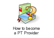 How to become a PT Provider