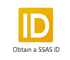 Obtain a SSAS ID